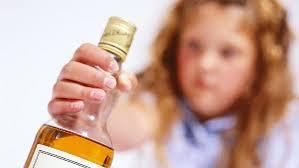 crianca bebida